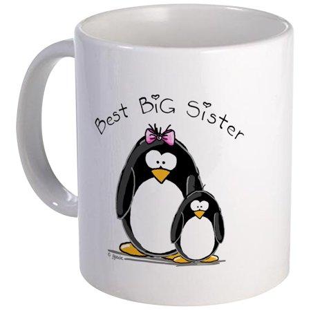 CafePress - Best Big Sister Penguins Mug - Unique Coffee Mug, Coffee Cup CafePress](Big Cups)