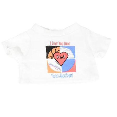i love you dad t-shirt fits most 14