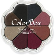 Clear Snap 715-35 ColorBox Fluid Chalk Petal Point Option Inkpad 8 Colors