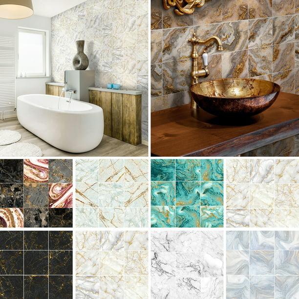 Toilet Wallart Shower Door Wall Tile Home DIY Stickers Micky**