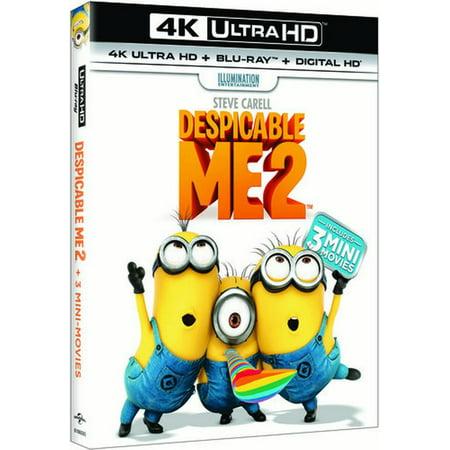 Despicable Me 2 (4K Ultra HD + Blu-ray + Digital HD) - Despicable Me Girl