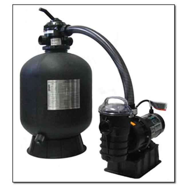 Blue Wave NE610 19'' Sta-Rite Sand Filter and 1-HP Pump