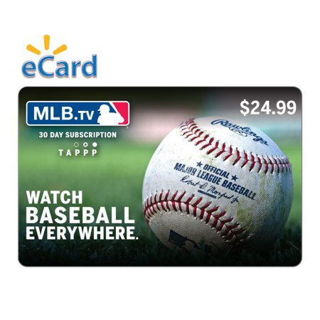 MLB TV $24 99 Gift Card (email delivery)