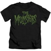The Munsters Distress Logo Little Boys Shirt