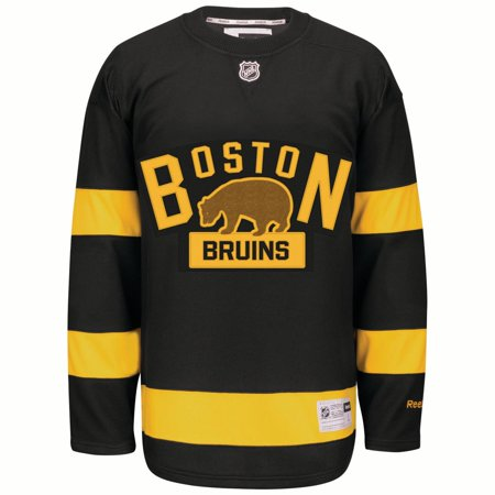 Boston Bruins Reebok Alternate Premier Jersey - Black