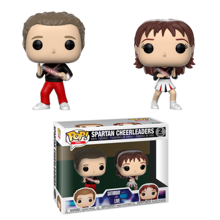 Funko POP TV: SNL -2PK - Spartan Cheerleaders