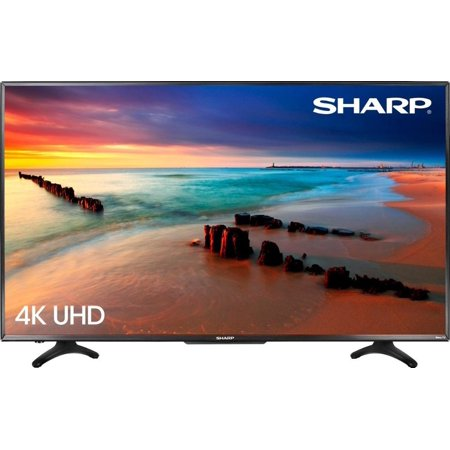 Sharp 50 inch LED 2160p Smart 4K Ultra HD TV - Roku TV -