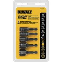 Dewalt DW2235IR 5 Pc Impact Ready Magnet Nut Driver Set