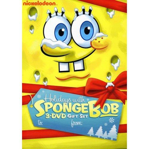 SpongeBob SquarePants: Holidays With SpongeBob - SpongeBob SquarePants: Christmas / SpongeBob SquarePants: Halloween / SpongeBob SquarePants: Whale Of A Birthday (Full Frame)