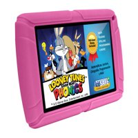 """HighQ Learning Tab Jr. 7"""" Kids Tablet, 8GB Storage, Expandable Storage, Quad-Core Processor, Front Facing and Rear Camera, Pink"""