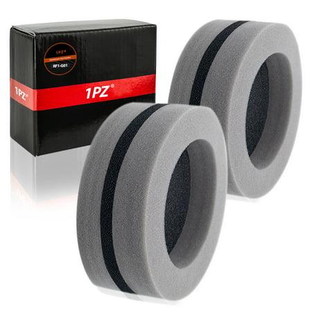 1PZ RF1-G01 Round Foam Air Filter For Polaris Gen II Style Hoods Polaris Indy 440 SKS 500 Classic (Gen Hood)