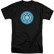 Green Lantern Blue Symbol Mens Big and Tall Shirt