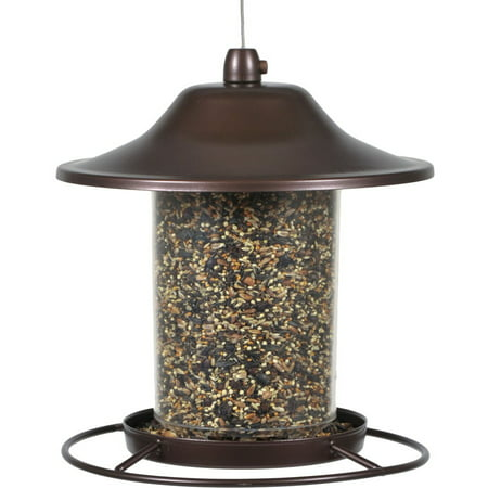 Perky-Pet Small Panorama Wild Bird Feeder (Cylinder Bird Feeder)