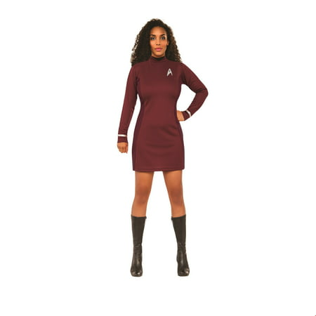 Star Trek Womens Beyond: Uhura Classic Adult Halloween Costume - Star Trek Adult Onesie
