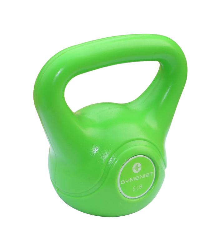 Gymenist Exercise Kettlebell Fitness Workout Body Equipment Choose Your Weight Size by Gymenist