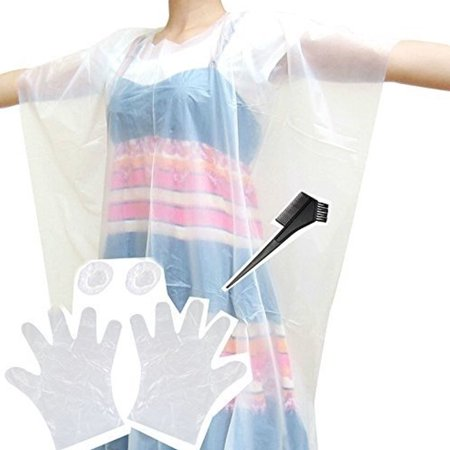 Set of Disposable Hair Dye Coloring Accessories - Applicator Comb ...