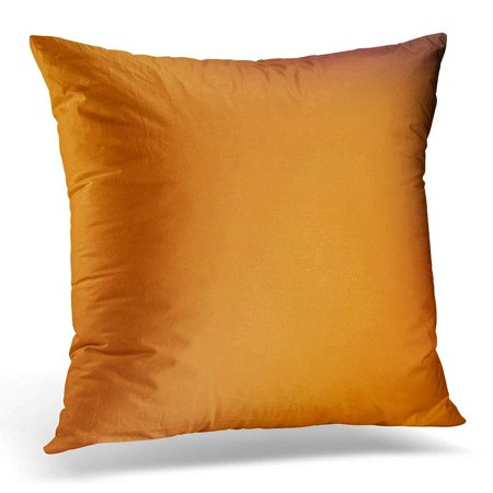 CMFUN Throw Pillow Case Cushion Cover Orange Gradient Abstract Yellow and Red Plain Grunge Dreamy Design Mesh Modern Style Burnt Golden Pillow Cover 18x18 Inches (Gradient Design)