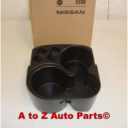 NEW 2007-2012 Altima Center Console CUP Holder, OEM, 2007-2012 Nissan Altima Black Center Console Cup Holder & Liner OEM NEW Genuine By Nissan Ship from US
