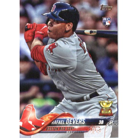 - 2018 Topps #18 Rafael Devers Boston Red Sox Rookie Baseball Card
