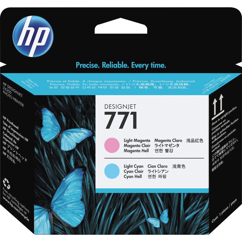 HP, HEWCE019A, CEO17A/18A/19A/20A 771 Printheads, 1 Each
