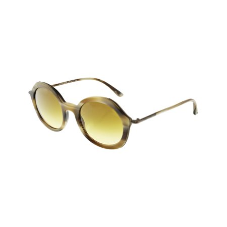 Giorgio Armani Women's Gradient AR8075-54942L-48 Brown Round Sunglasses ()
