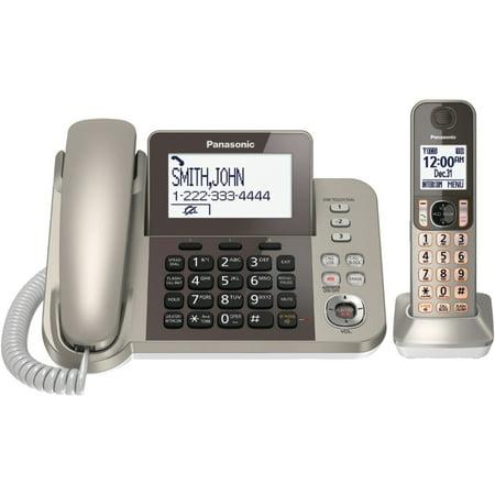 Refurbished Panasonic KX-TGF350N DECT 6.0 Plus Corded/Cordless Landline Phone