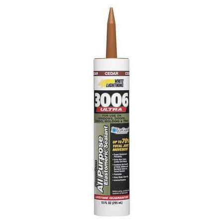 WHITE LIGHTNING W11006010 10.0 oz. Cedar Acrylic Caulk