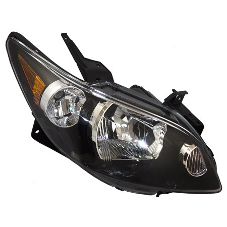 Passengers Headlight Headlamp Replacement For Mazda Van Le46510k0c