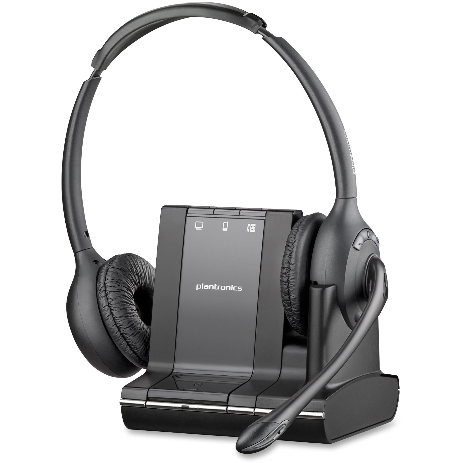 Plantronics, PLNSAVI720, Over-the-Head Monaural Phone Headset, 1, Black