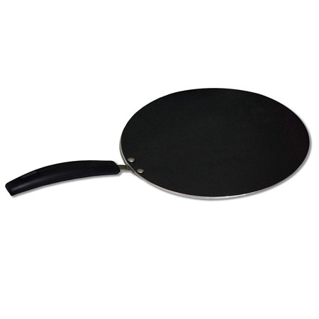Bioexcel Non stick Hard-Anodized Tawa – Ideal To Make Roti/Chapati / Paratha – Flat Dosa Tawa Griddle 10.25 Inch –