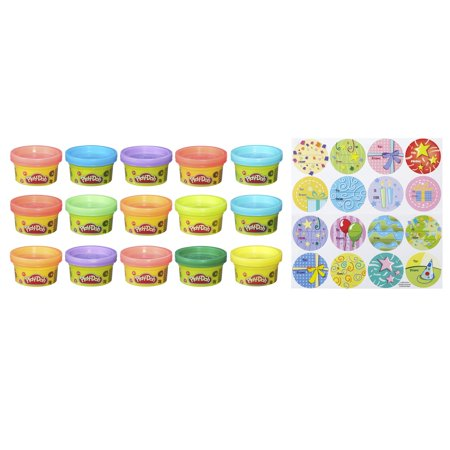 Play-Doh 15 Count Party Bag, 15 oz