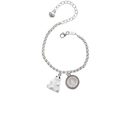 Resin Ghost She Believed She Could So She Did Engraved Bracelet
