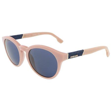 Diesel DL0115/S 72V Baby Pink Round (Diesel Womens Sunglasses)