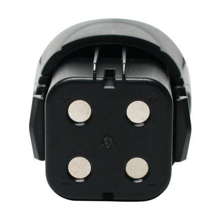 Compatible Dremel 755-01 Battery - For Dremel 4.8V Rotary Tool Battery (1500mAh, NIMH) - image 3 of 4