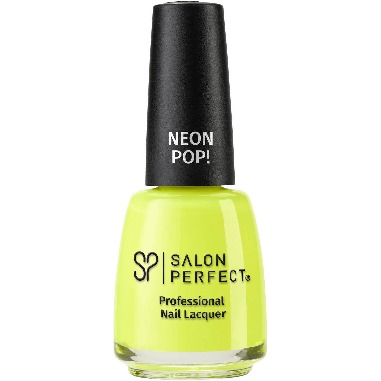Salon Perfect Nail Polish, 508 Yowza Yellow, Yellow 0.5 fl oz