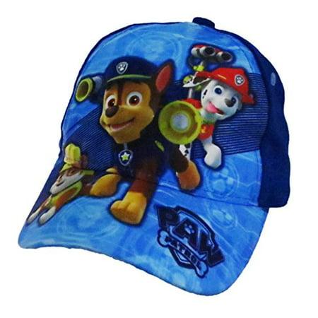 official photos 4069f 312eb Nickelodeon - Nickelodeon Paw Patrol Boys Baseball Cap - Toddler  6014  -  Walmart.com