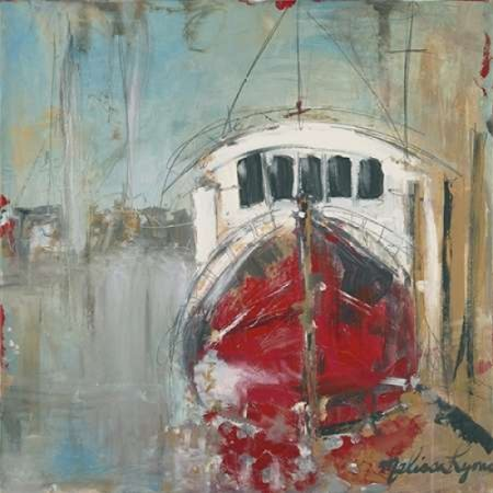 red nose boat canvas art melissa lyons 24 x 24 walmart com