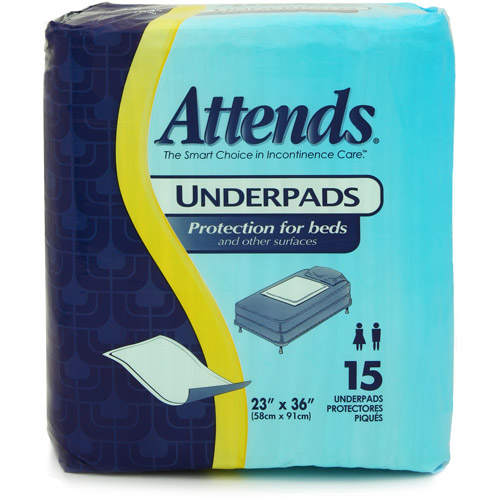 Attends Disposable Underpads,15ct