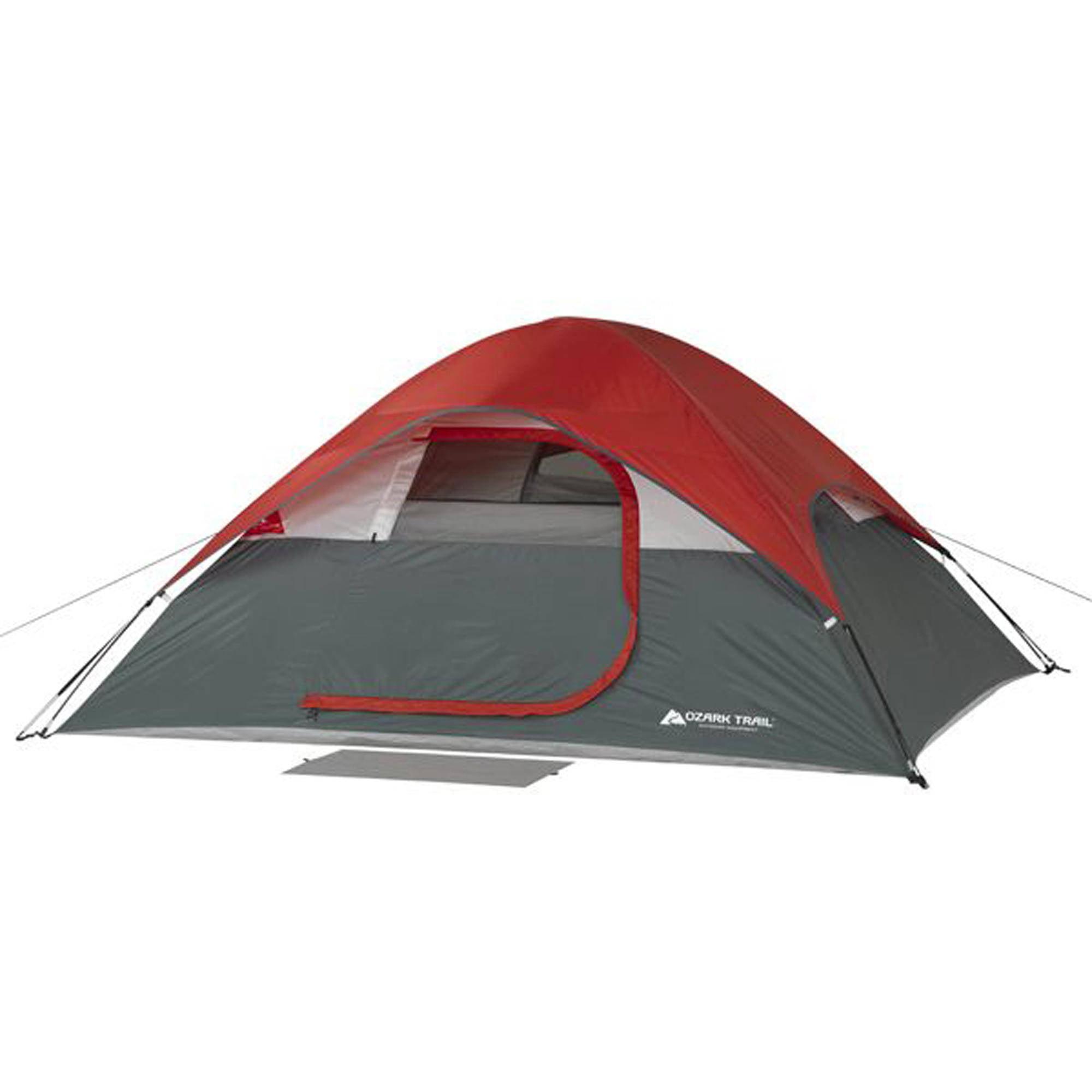 sc 1 st  Walmart & Ozark Trail 4-Person Dome Privacy Tent - Walmart.com