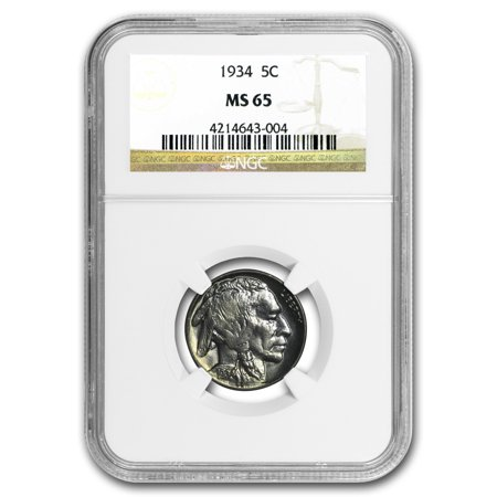 1934 Buffalo (1934 Buffalo Nickel MS-65 NGC )