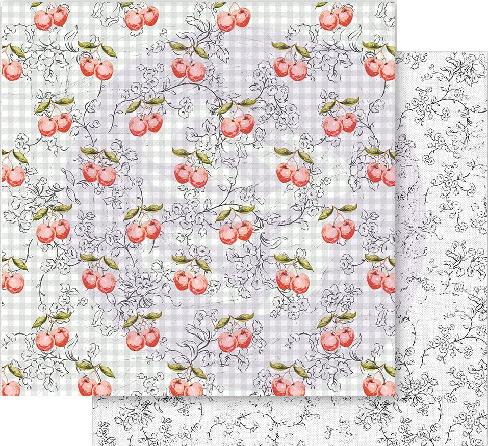 Prima Marketing FP638412 Fruit Paradise Cardstock Ephemera 44//Pkg-W//Foil Details