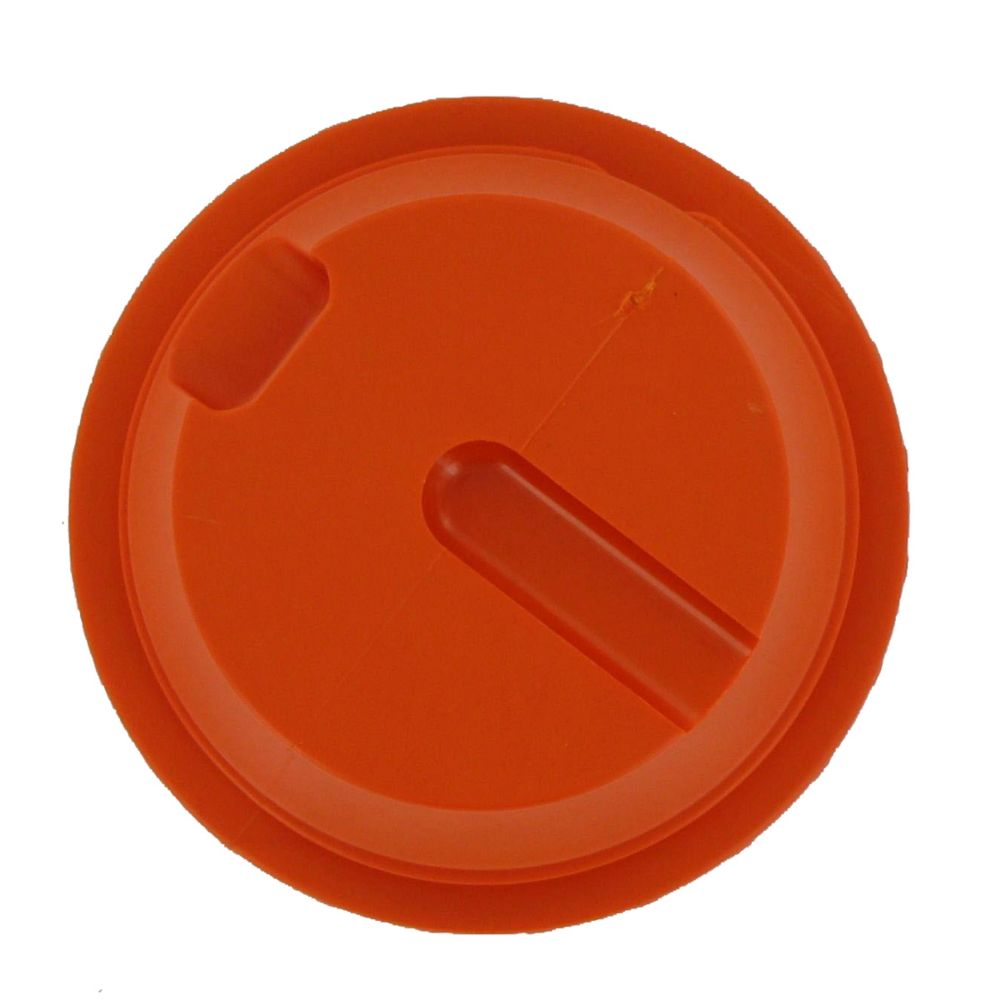 BUNN 40162.0001 Orange Replacement Lid for Economy Thermal Carafe