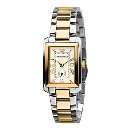 Emporio Armani Women's Classic Stainless Steel Watch (Emporio Armani Size Chart)