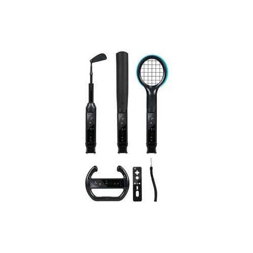 Cta CTA WI-6KB Nintendo Wii (TM) Grand Slam 6-in-1 Sports Pack (Black) CTAWI6KB