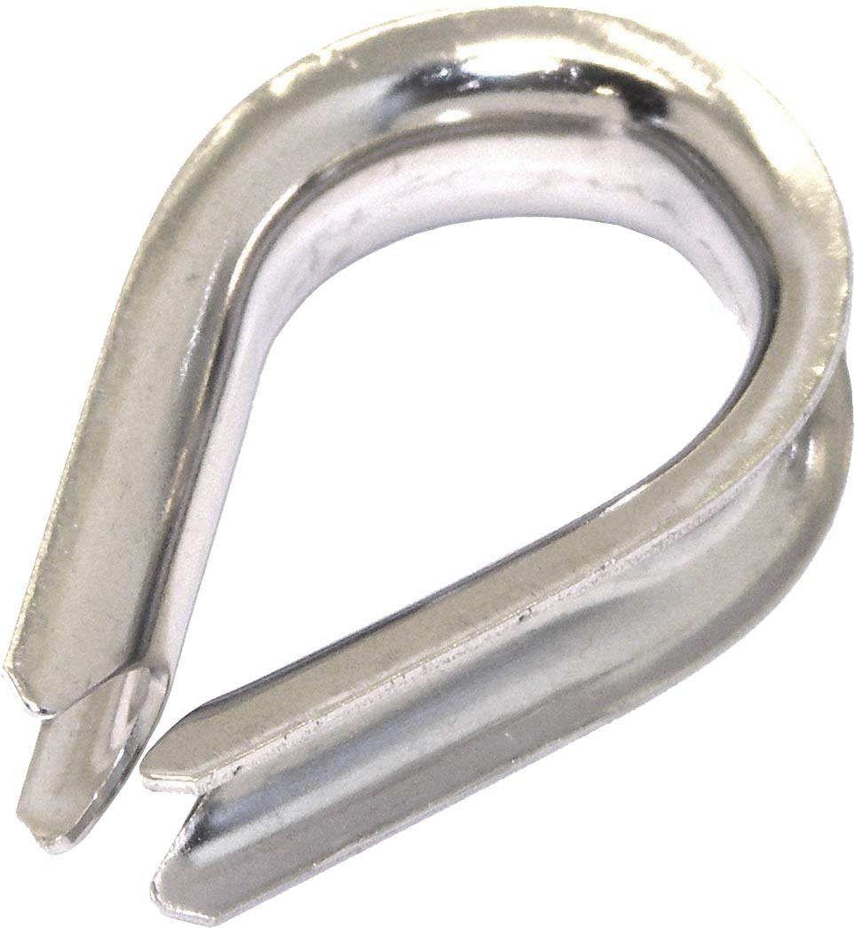 KIMPEX Rope Thimble Silver  #745425