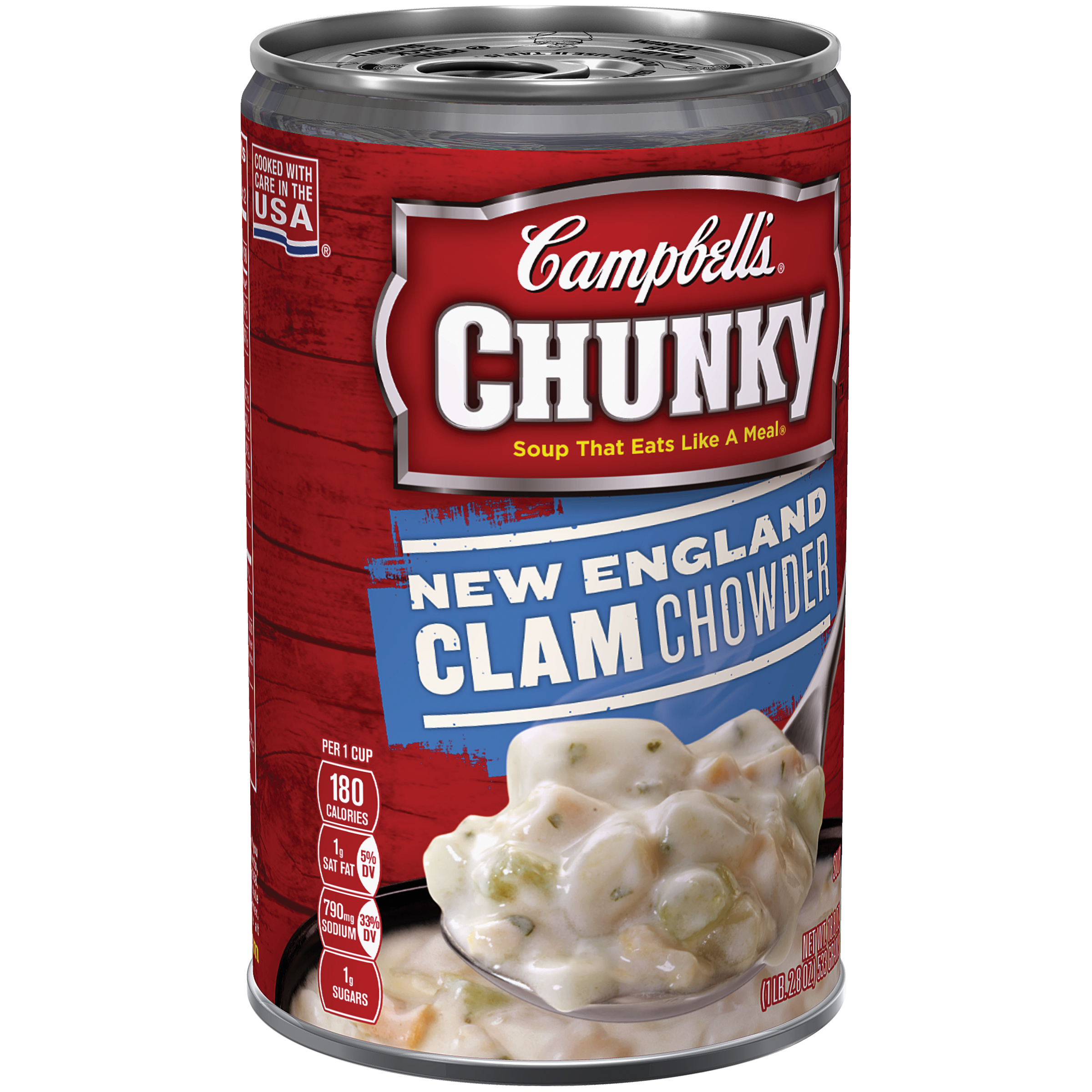 Campbell's Chunky New England Clam Chowder Soup 18.8oz