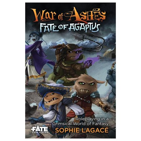 Evil Hat Productions War of Ashes: Fate of Agaptus Role Play Game