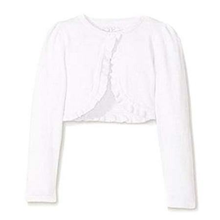 Jessica Ann Cropped Cardigan Sweater White, 3T Ann Taylor Silk Cardigan