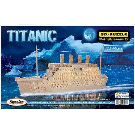 (Titanic Natural Wood Puzzle)