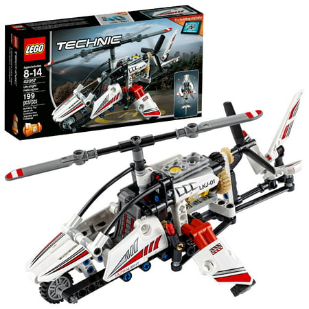 Lego Technic Ultralight Helicopter 42057 199 Pieces